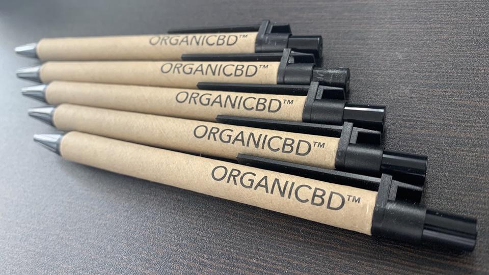 organiCBD オリジナルボールペン