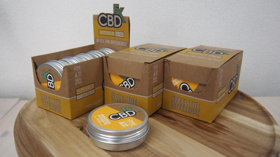 CBDfx の CBD カーミングバームはお手頃価格