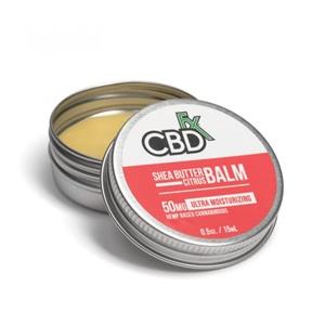 CBDfx CBDバーム - Shea Butter Citrus(保湿)