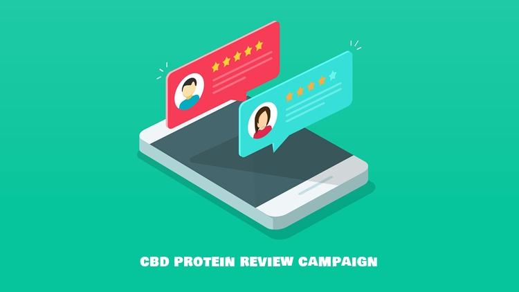 CBD プロテインの感想を書いて大量ポイント獲得!レビューキャンペーン開催