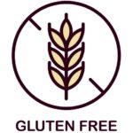 小麦タンパク質不使用(グルテンフリー)