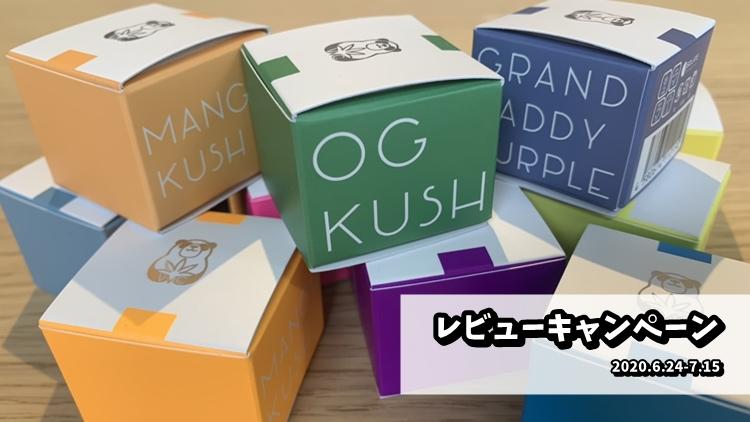 VMC オリジナル CBD ワックス「和み -Nagomi-」のレビュー投稿で1,500ポイント獲得キャンペーン開催