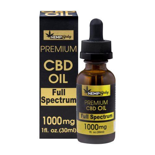 ヘンプベイビー フルスペクトラム CBD オイル 30ml / HEMP Baby CBD OIL