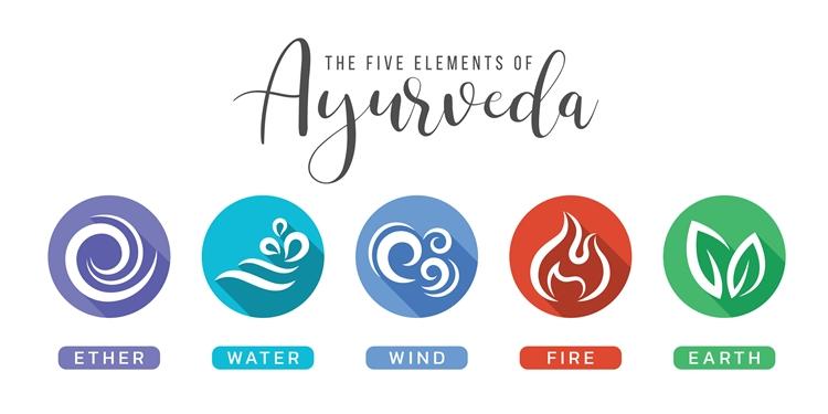 アーユルヴェーダの五大元素