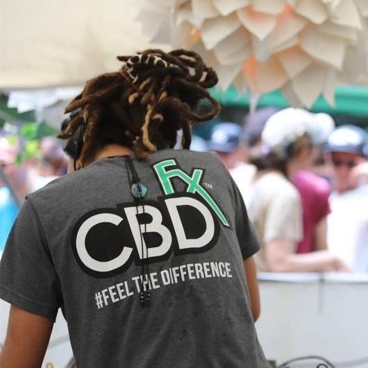 CBDfx オリジナル Tシャツ / CBDfx Original T-shirt