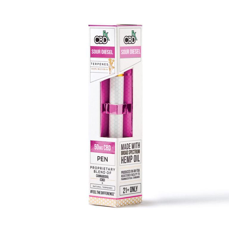CBD ペン/50mg CBDfx テルペン配合 VAPE ペン / CBD Terpenes Vape Pen