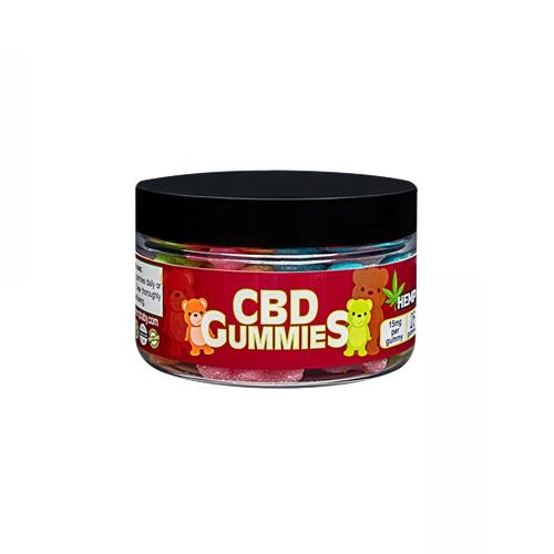 CBD グミ/375mg ヘンプベイビー 1粒CBD15mg + CBN3mg 25個 / HEMP Baby CBD GUMMIES
